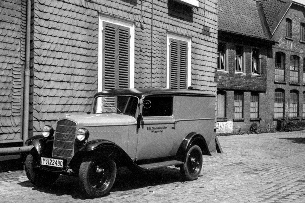 Sachsenröder historisches auto